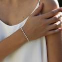 Bracelet élastiqué Le Classique - Boules 2,5 mm en argent