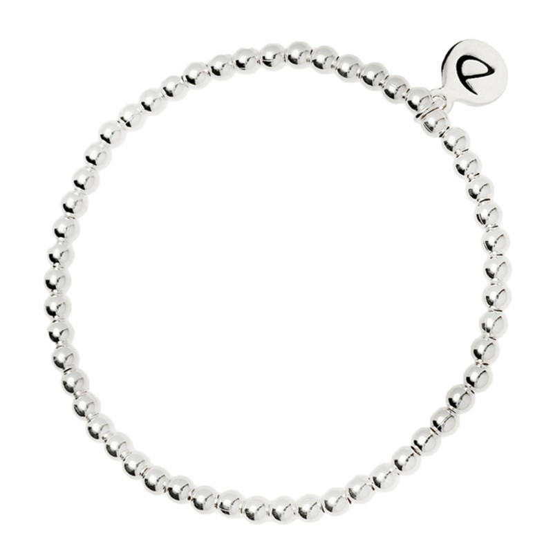 5bde2d3582b Bracelet élastique Boules - Perles en argent 925 1000 diamètre 3