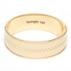 Bracelet jonc large BANGLE UP 