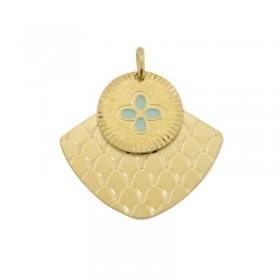 Double médailles Mycènes Chance signées Lovely Day Bijoux