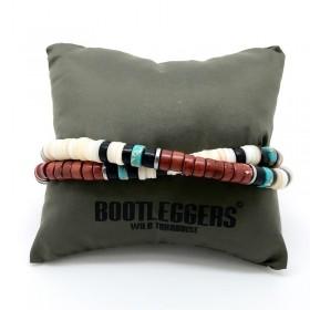 Bracelet multi tours homme ROLLING & haishi multicolor