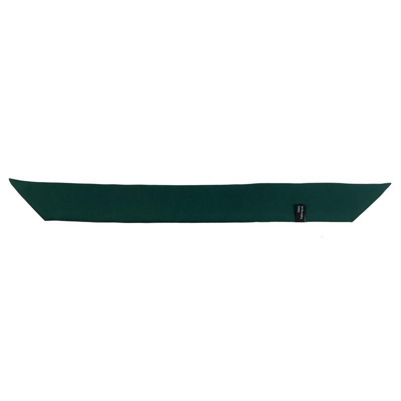 Ruban foulard de soie à nouer Vert Sapin 4 cm