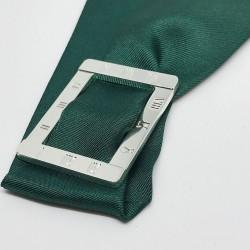 Ruban de soie de 4 cm inscrit dans un anneau cadran