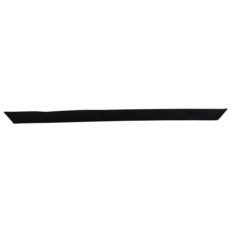 Bracelet à nouer - Ruban de soie Noir - 2 cm - Ann-Née