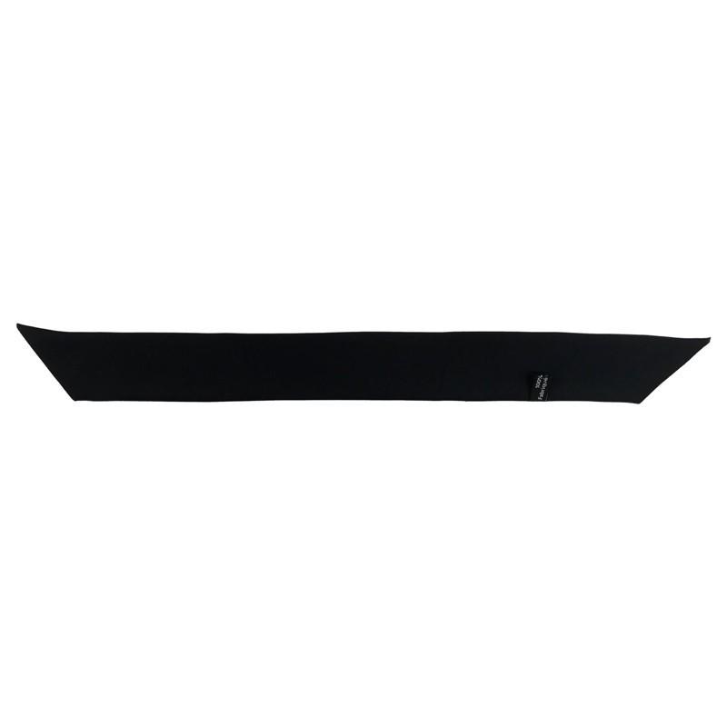 Bracelet à nouer - Ruban de soie Noir - 4 cm