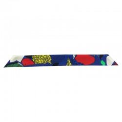 Bracelet à nouer - Ruban de soie Multicolor - 4 cm