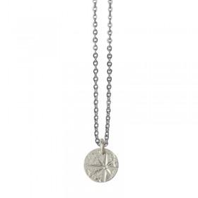 Lovely Day Bijoux - Collier choker Argent L'Etoile & Médaille étoile design