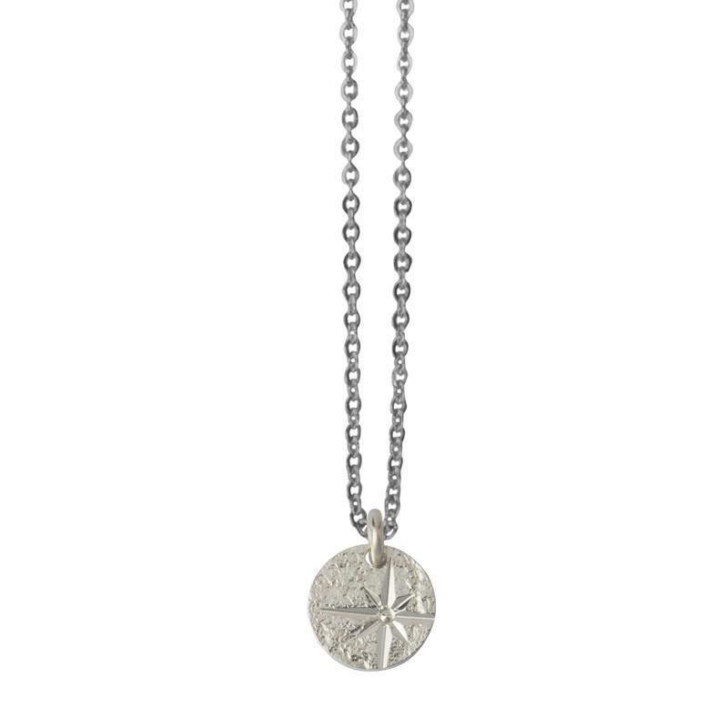 Collier choker Argent L'Etoile & Médaille étoile design
