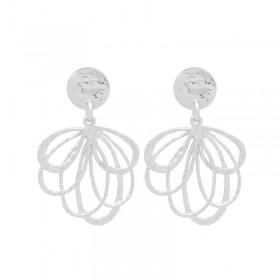 Boucles d'oreilles ZELIE Argent - Pendants & Décor feuille design