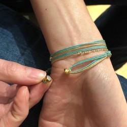 Bracelet multi-rangs Indy - Fermoir aimanté