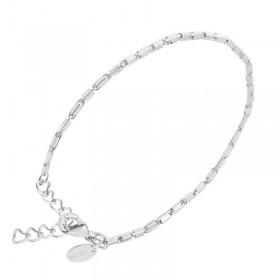 Bracelet Chaîne en argent - Gourmette petits maillons fins