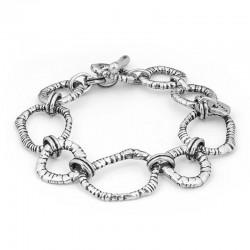 Bracelet  Gourmette GAYUBA - Metal & Décors anneaux designs