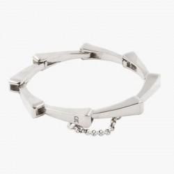 Bracelet Gourmette métal - Maillons clous allongés designs