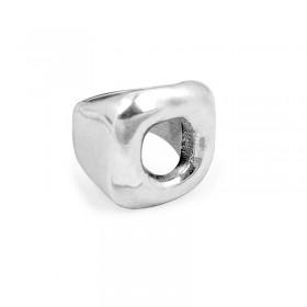 Grosse Bague métal ENCUADRA & Décor carré évidé design - CICLON -