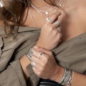 Ambiance collections colliers - bracelets -  bagues DORIANE Bijoux