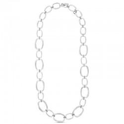 CICLON - Collier court métal TRIANA - Chaîne & Anneaux ovales designs