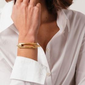 Bracelet Jonc doré DETROIT CXC