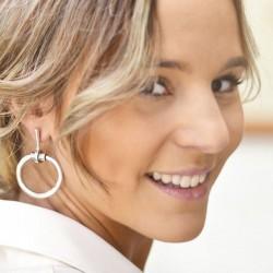Boucles d'oreilles MORS métal CXC