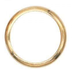 Bracelet Jonc YAO ARGELOUSE - Jonc lisse en laiton doré