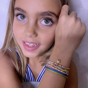 Ambiance des bracelets LeJu London pour KIDS