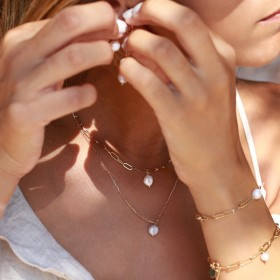 Joli ensemble de colliers Nilaï Paris