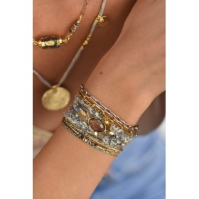 Belle ambiance bracelets sgnés BY GARANCE