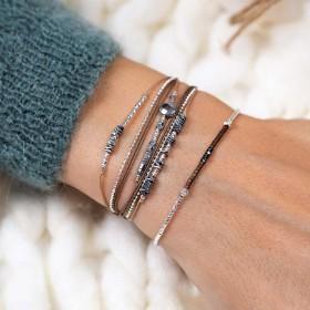 Ensemble réussi collection bracelets marron DORIANE Bijoux