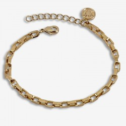 Bracelet Gourmette VENITIEN doré - Chaîne & Mailles vénitienne design CHORANGE