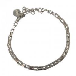 Bracelet Gourmette VENITIEN argent - Maille vénitienne design CHORANGE