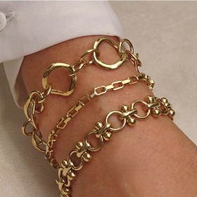 Bracelets CHORANGE avec Bracelet vénitien assorti au collier.