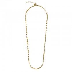Collier mi-long chaîne VENITIEN doré - Maille vénitienne design CHORANGE