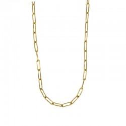 Mailles allongées moyennes pour ce collier CLASSIC signé BY GARANCE