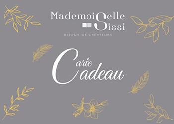 Carte Cadeau Mademoiselle Sissi