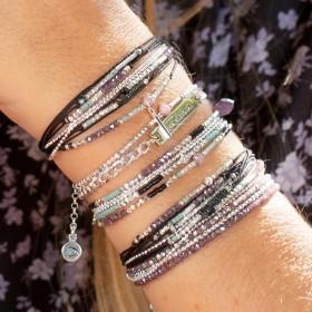 En vogue, cette manchette de bracelets DORIANE bijoux