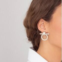 Boucles d'oreilles signées CXC
