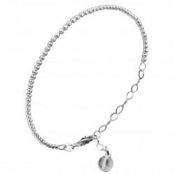 Bracelet Chaîne Argent - Mini Disques designs CANYON