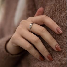 Bague fine anneau Ceinture CANYON