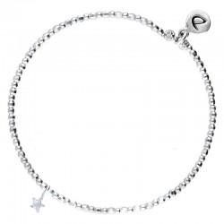 Bracelet élastique Perles en Argent & PETITE ETOILE OXYDE DORIANE BIJOUX