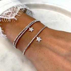 Bracelets étoile signés DORIANE Bijoux