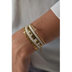 Bracelet Carry Blanc BY GARANCE