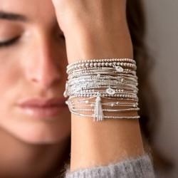 Manchette de bracelets signés DORIANE Bijoux