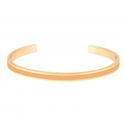 Bracelet jonc ouvert Bangle - Laiton doré & Email Camel - Bangle Up